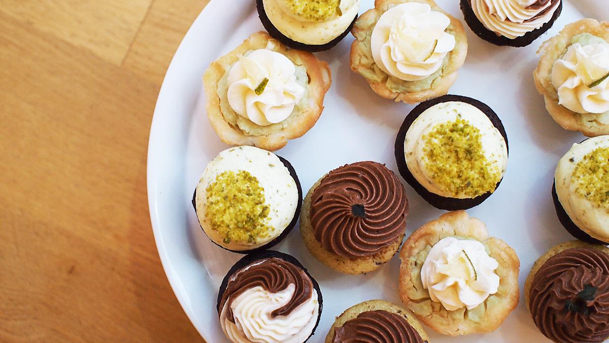 mini cupcakes und quiches auf bestellung