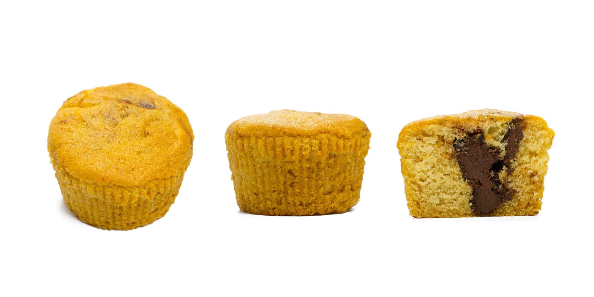 vanille muffin nuss nougat füllung
